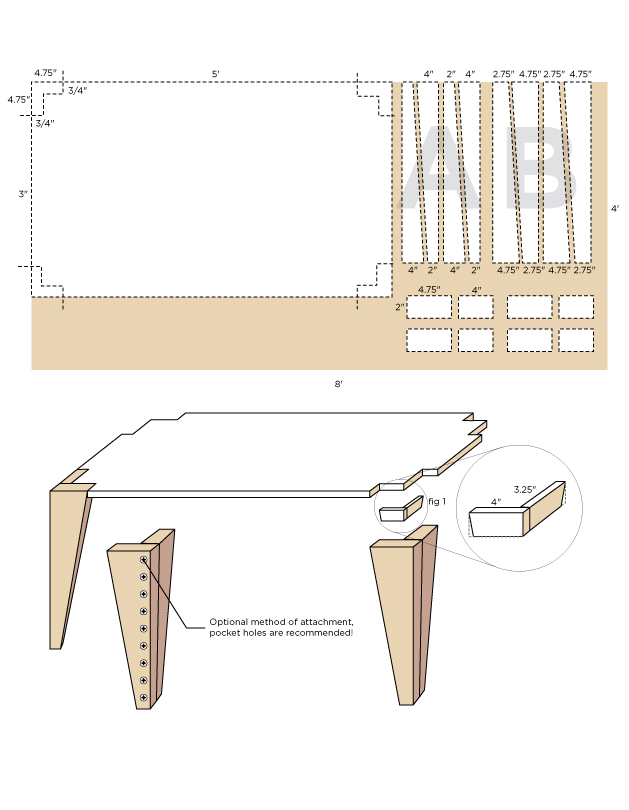 Abeautifulmess_mid-century-inspired-table-(click-through-for-more)