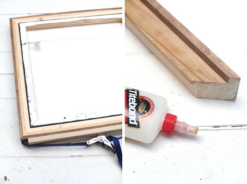 Diy Custom Framingno Power Tools Required A Beautiful Mess