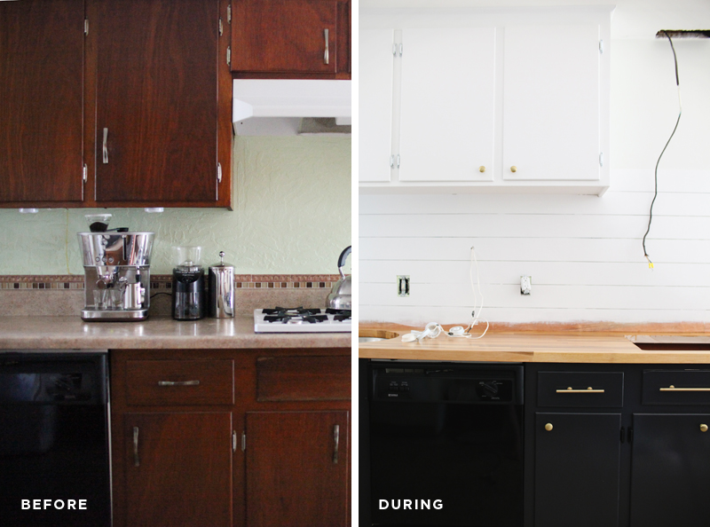 Refinishing Kitchen Cabinets - A Beautiful Mess