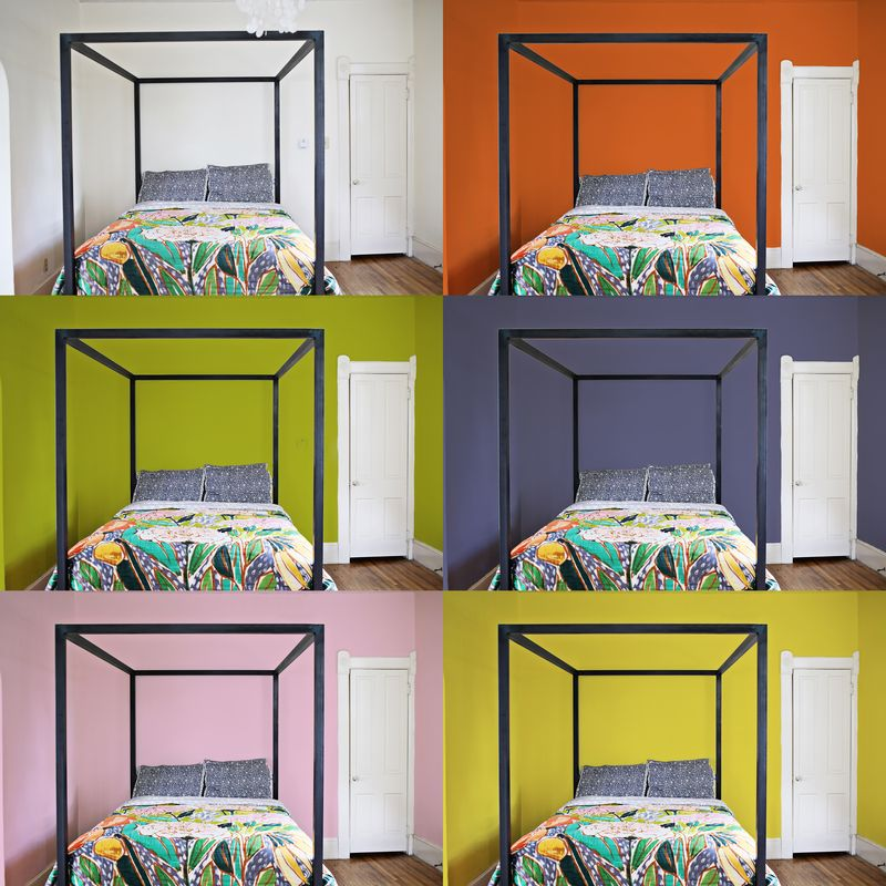 Colorful Mess Room: A Bright Bedroom Update