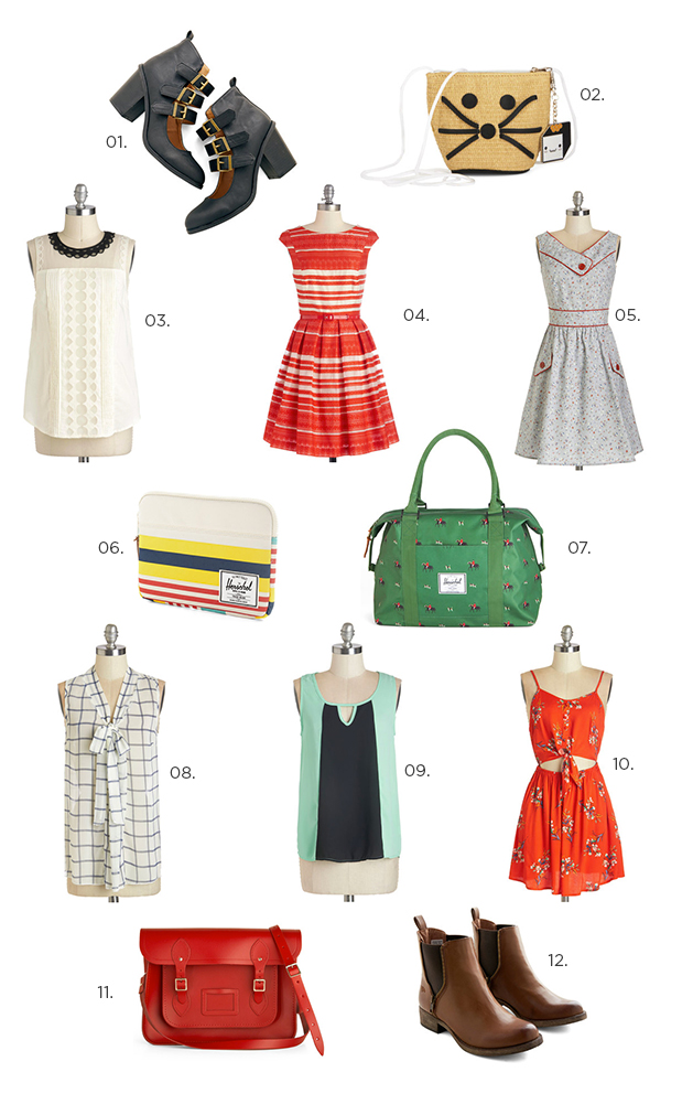 Back to school shopping (or maybe just pre-fall... whatever!)
