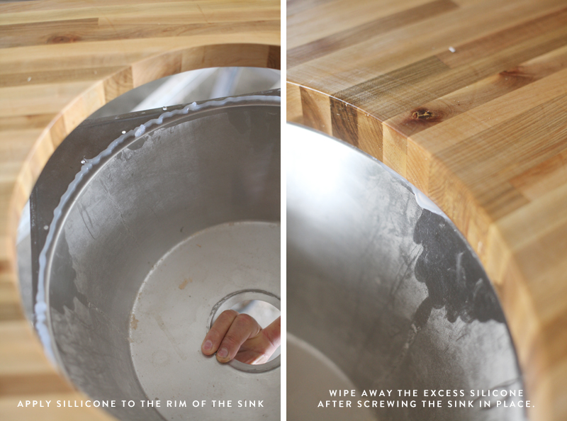 Let S Talk About The Controversial Aspect Of Butcher Block How To Install Your Own With Mounting Sink