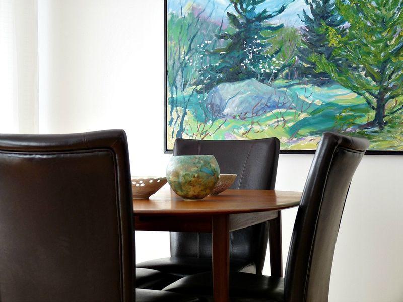 Lovely art for the dining room