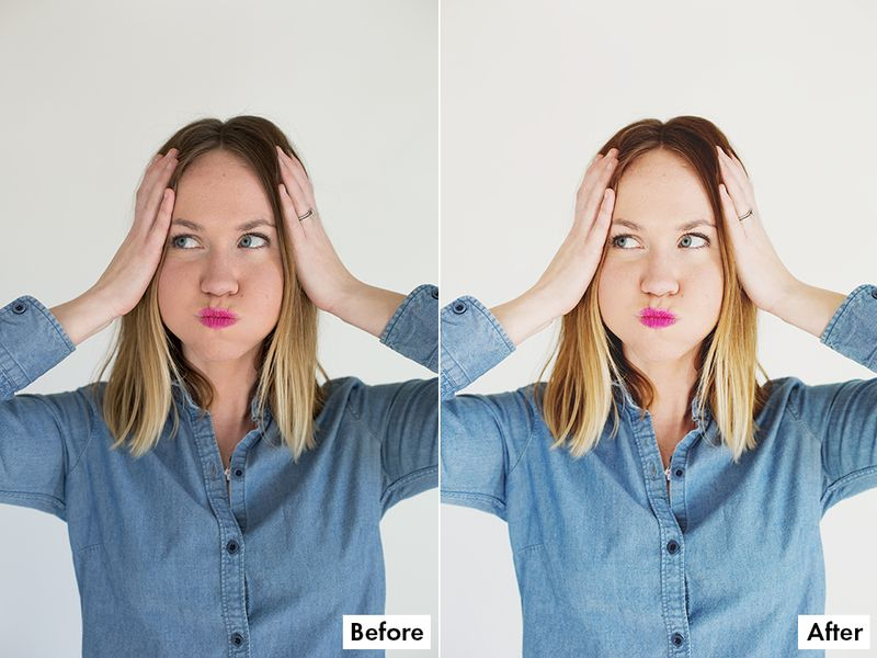 Before + After with A Beautiful Mess Actions