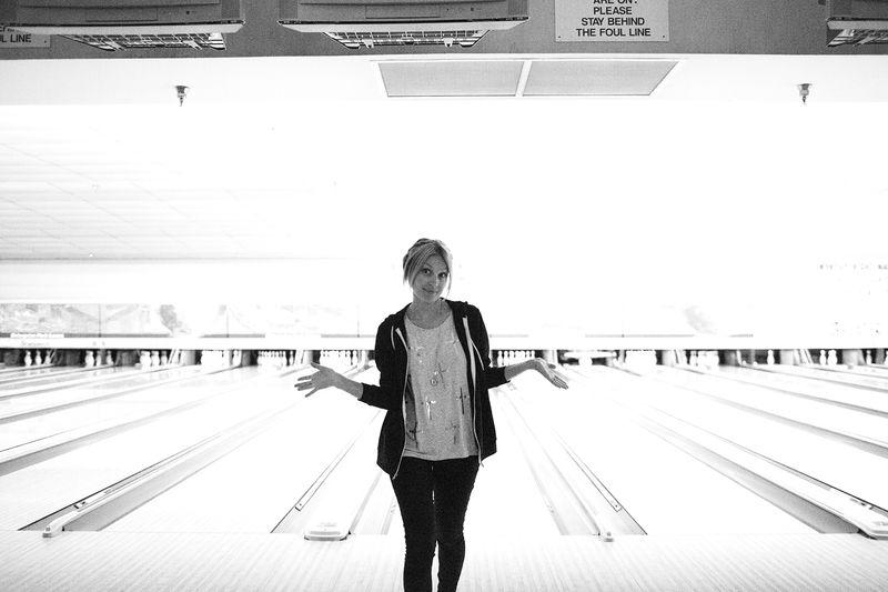 Bowling is fun