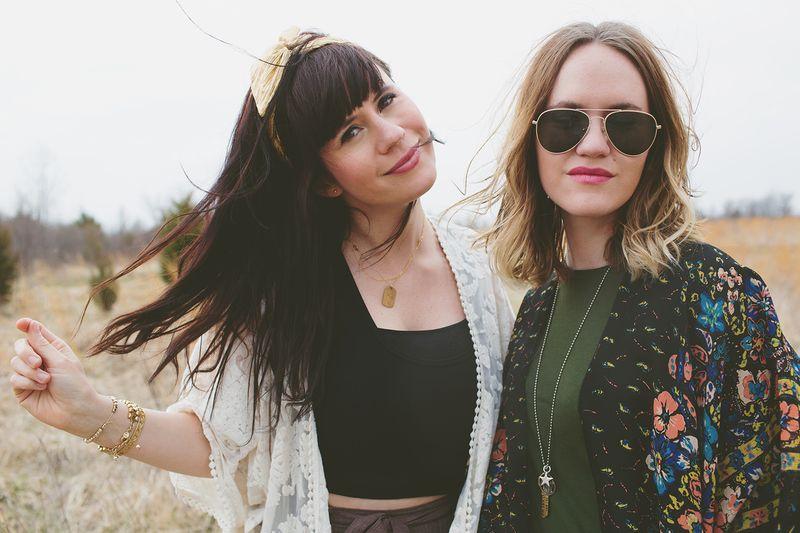 Elsie Larson and Emma Chapman