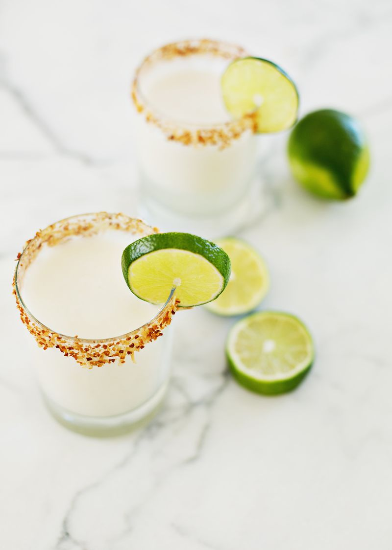 Toasted Coconut Margarita
