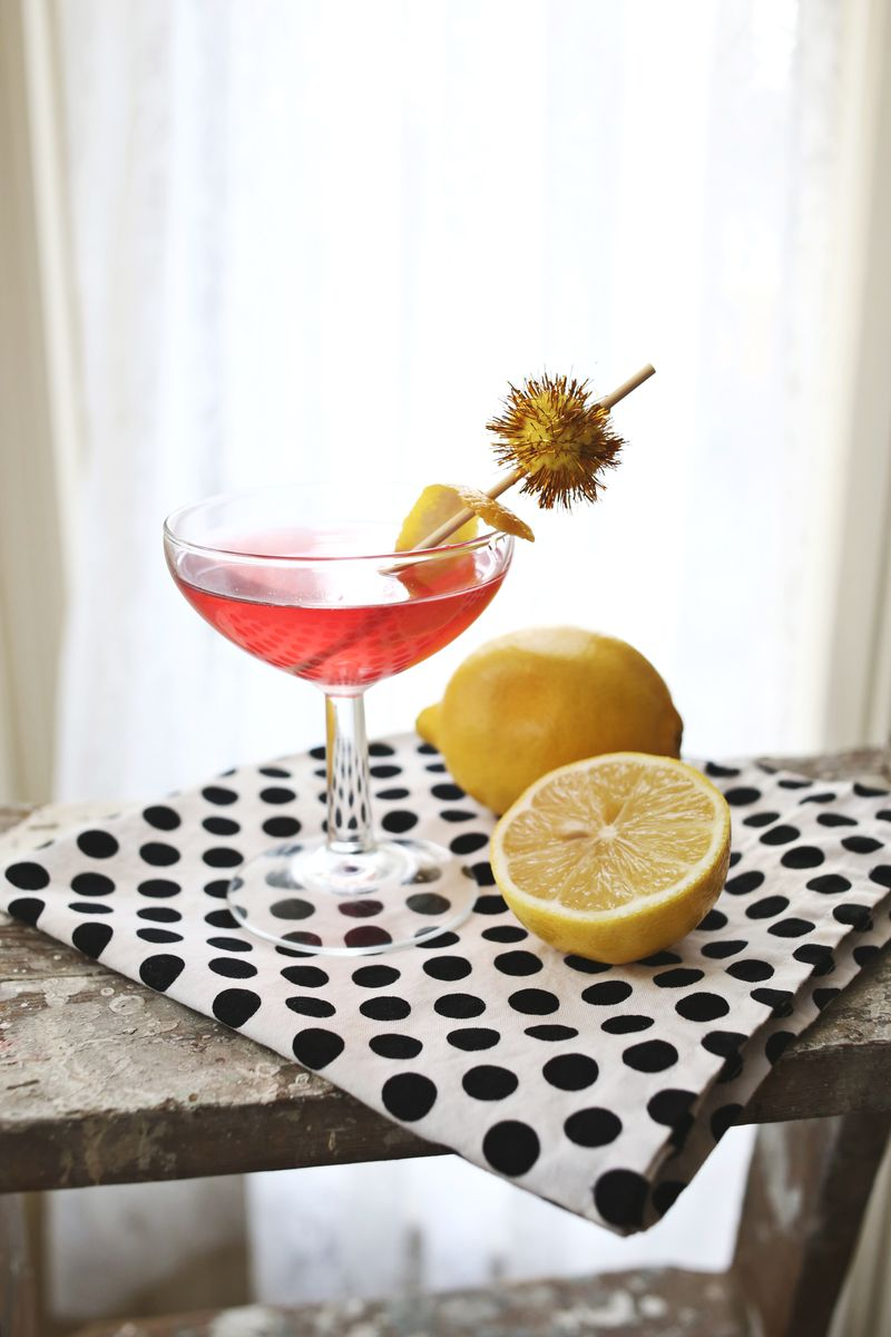 Lemonberry martini