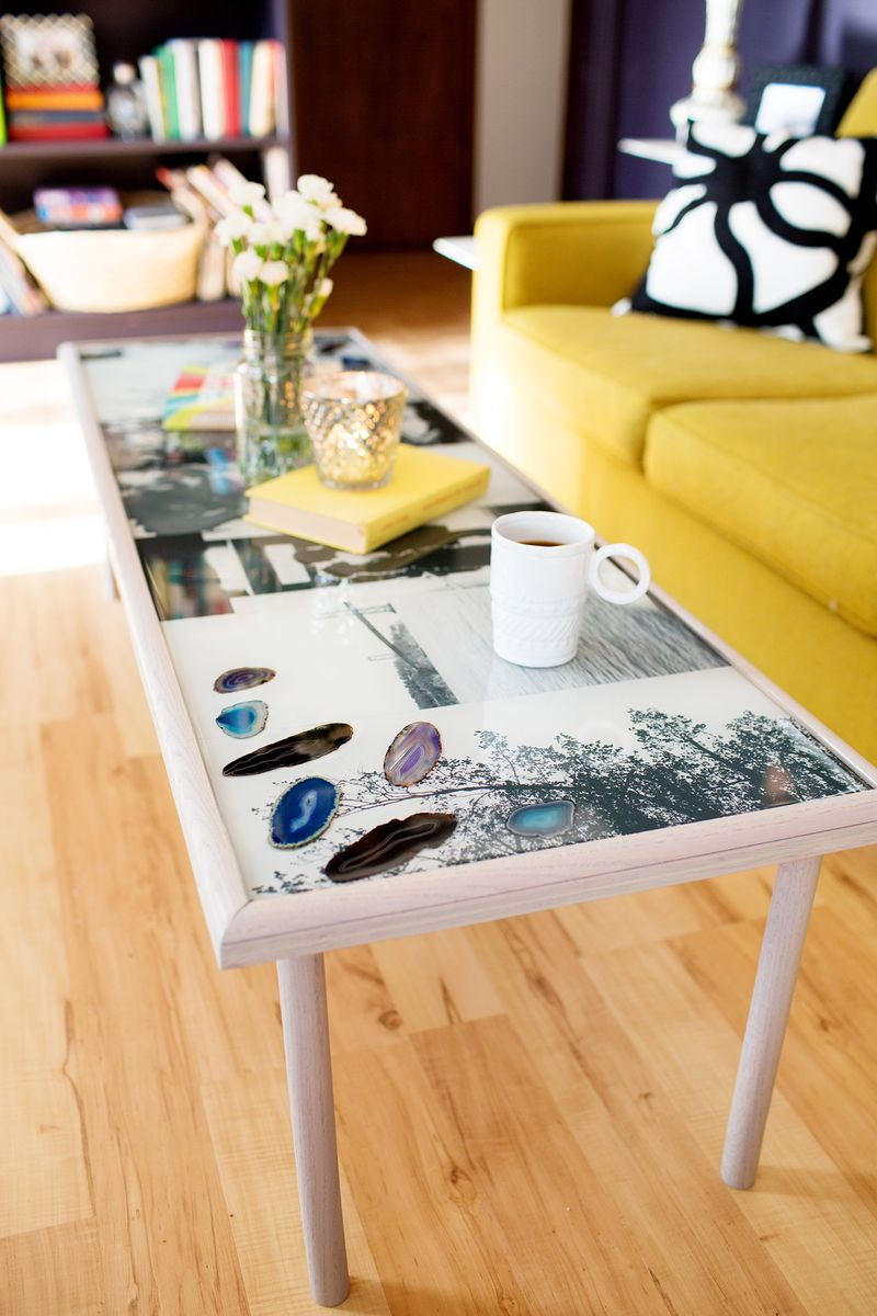 Diy Epoxy Resin Coffee Table A Beautiful Mess