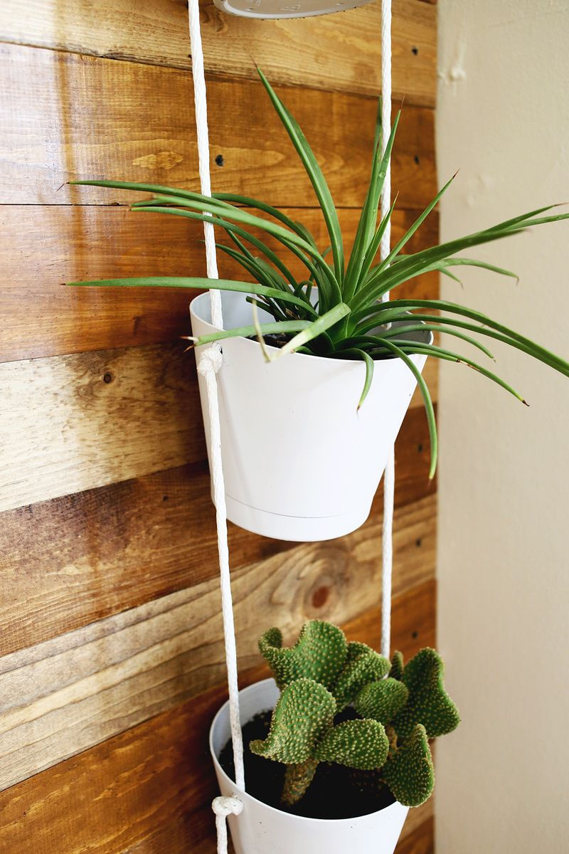 3 Tier Indoor Rope Planter