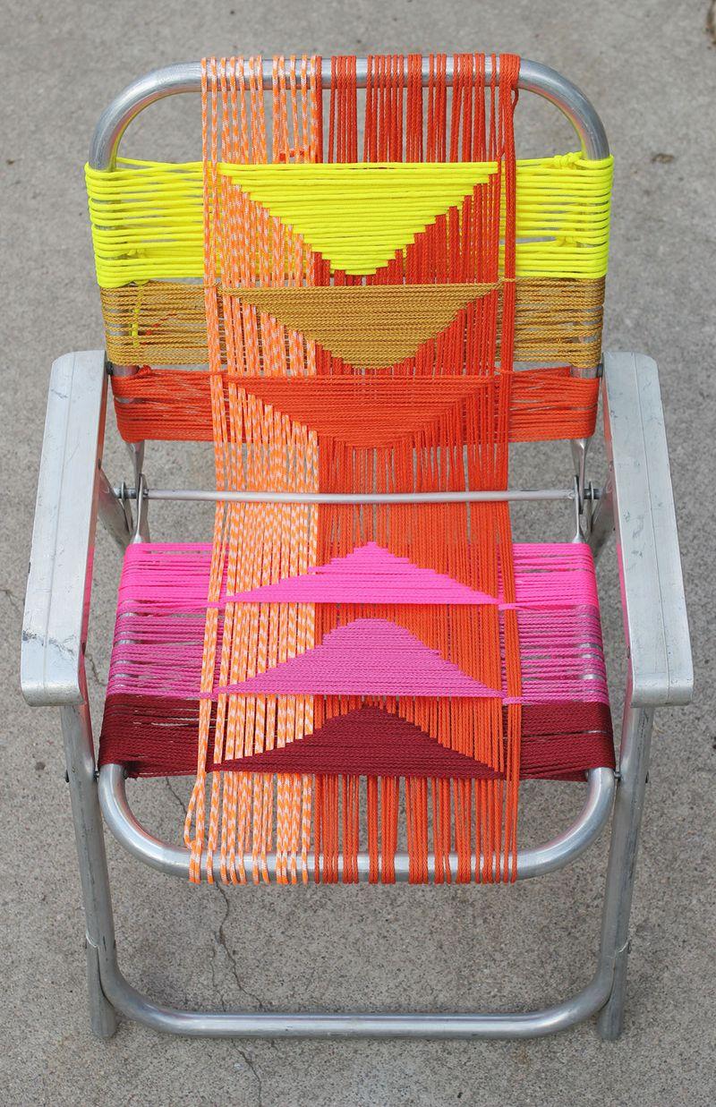 Woven Chair DIY