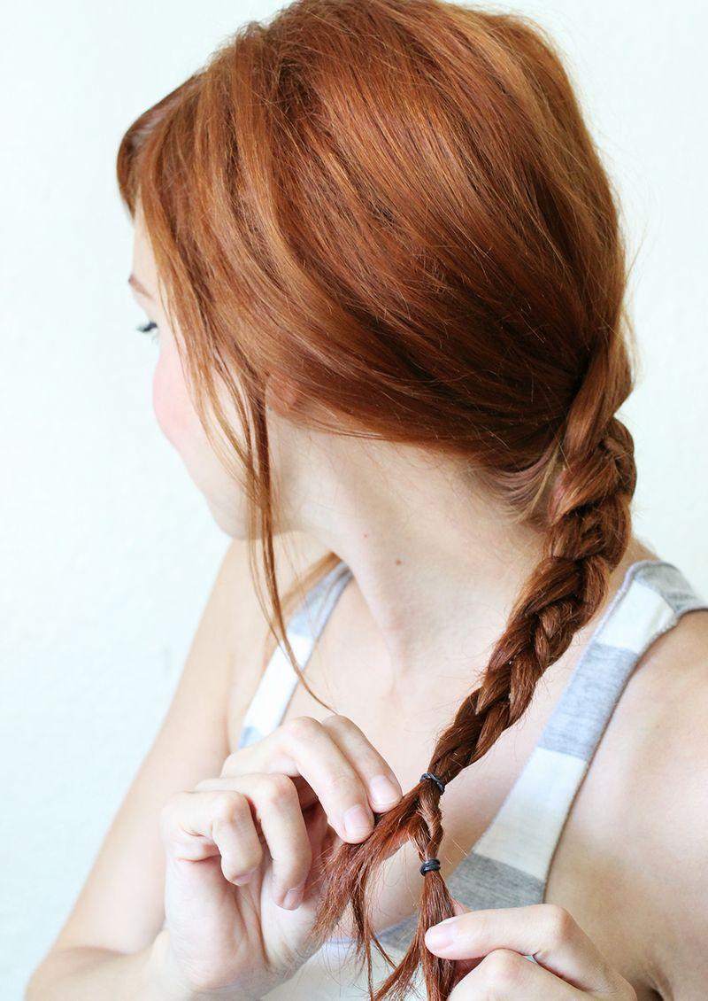 Step 4- Textured Summer Braid