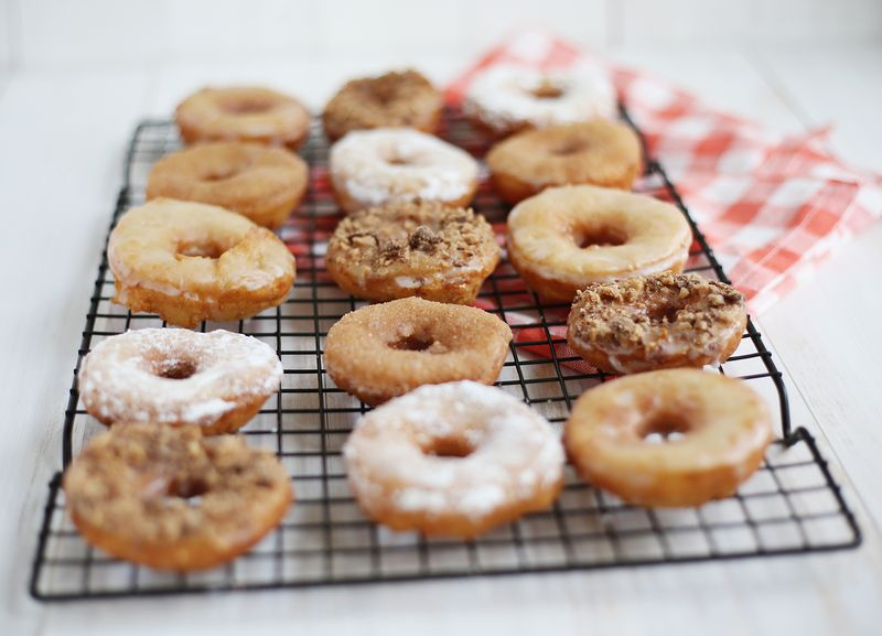 Cake donuts made with potato
