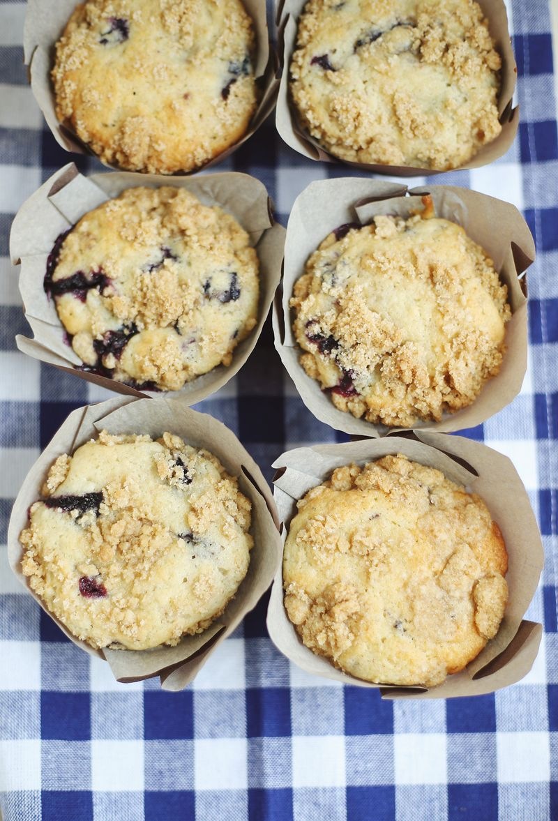 Lavender blueberry muffin recipe