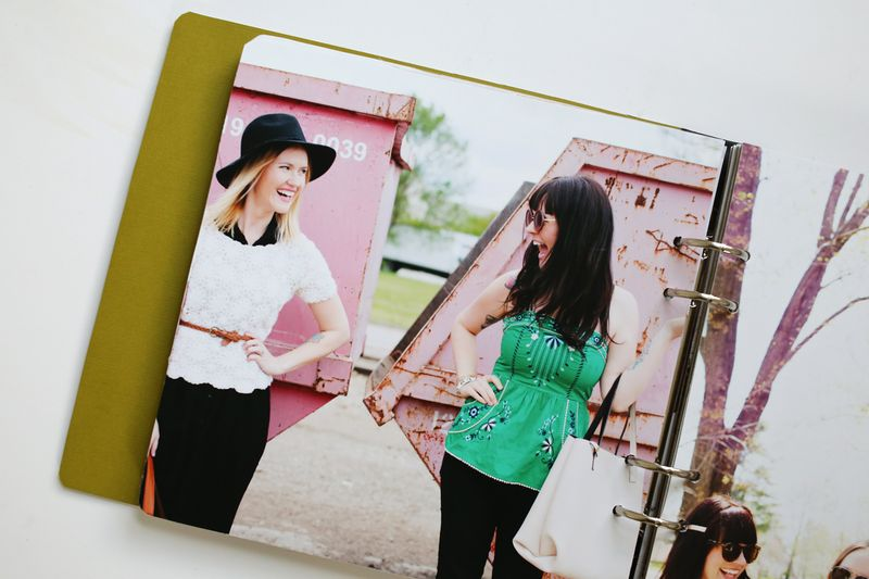 A fun gift idea! Sister photo book!