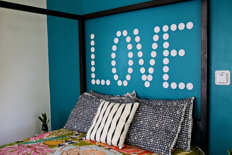 A Bright Bedroom Update! via A Beautiful Mess