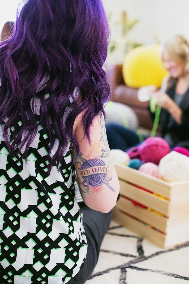 Holly's cute tattoo