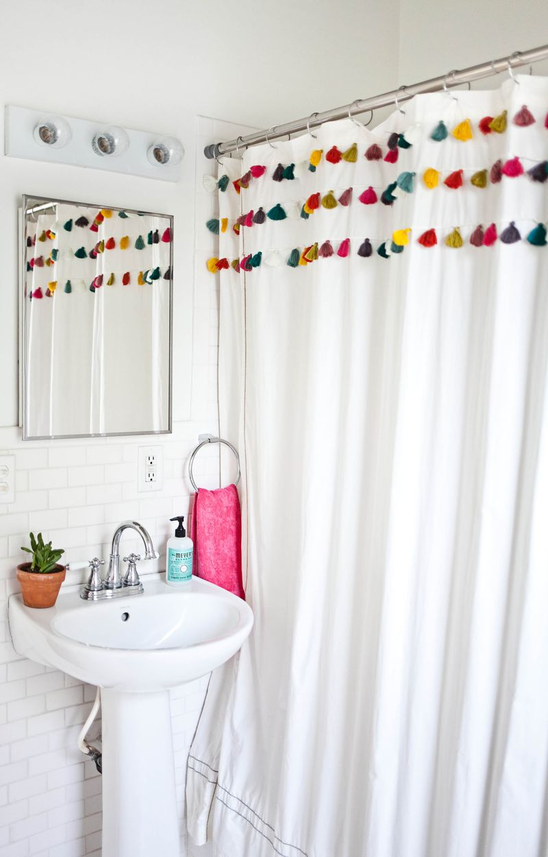 A Beautiful Mess bathroom makeover