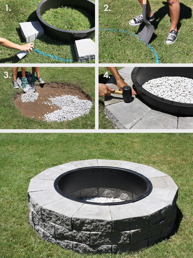 Make Your Own Fire Pit In 4 Easy Steps A Beautiful Mess