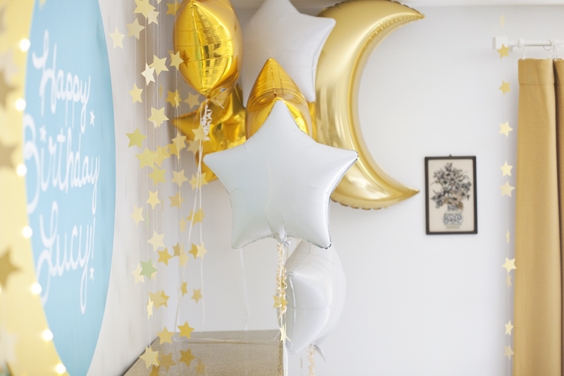 moon and stars birthday party