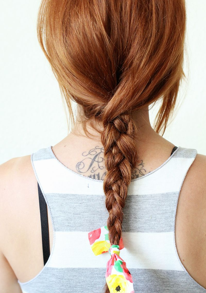 Textured summer braid