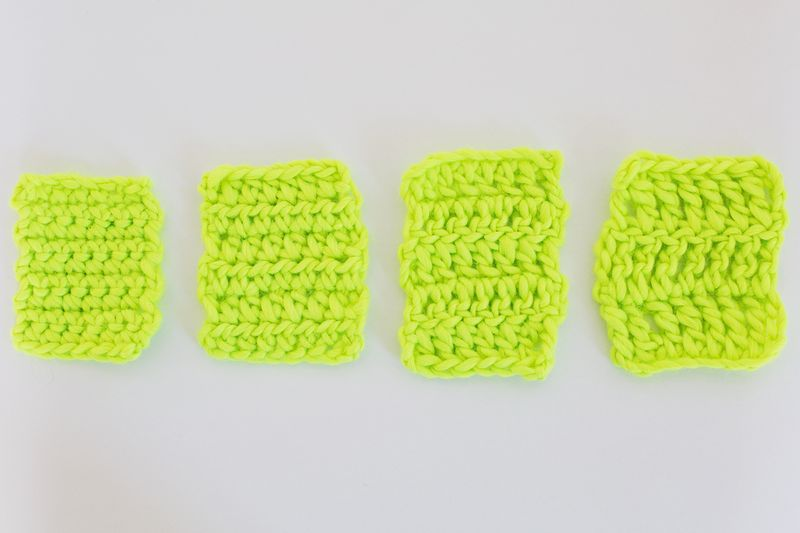 How to do 1 tr in crochet
