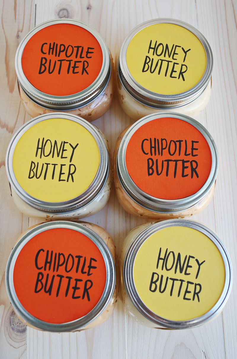 Compound butter party favors