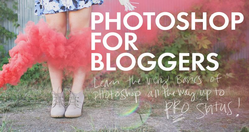 Photoshop for Bloggers!