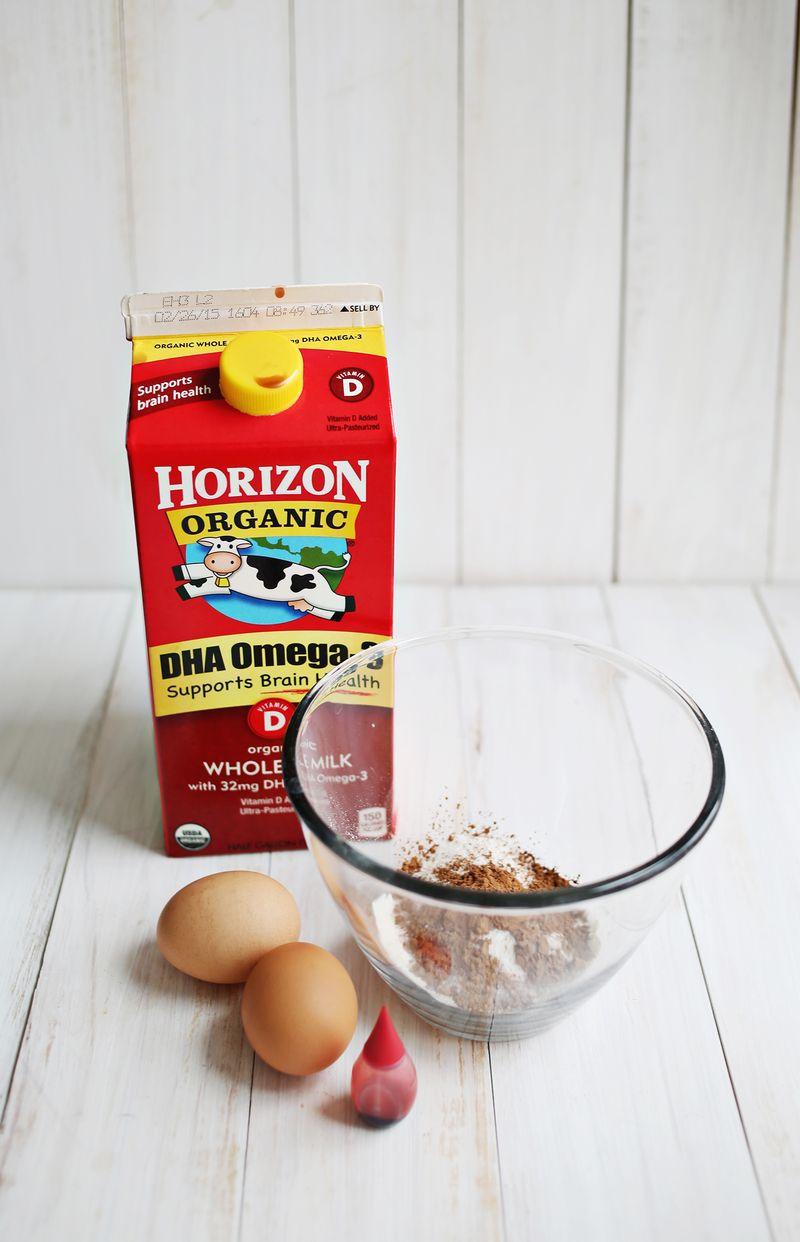 Red velvet dutch pancake recipe