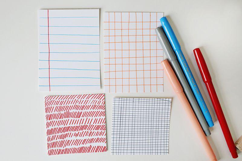 How to make scrapbook pocket cards