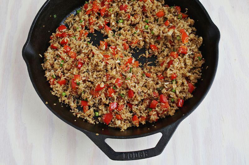 How to stir fry quinoa