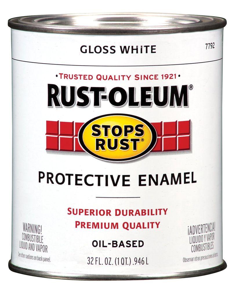 Rust-oleum Gloss White