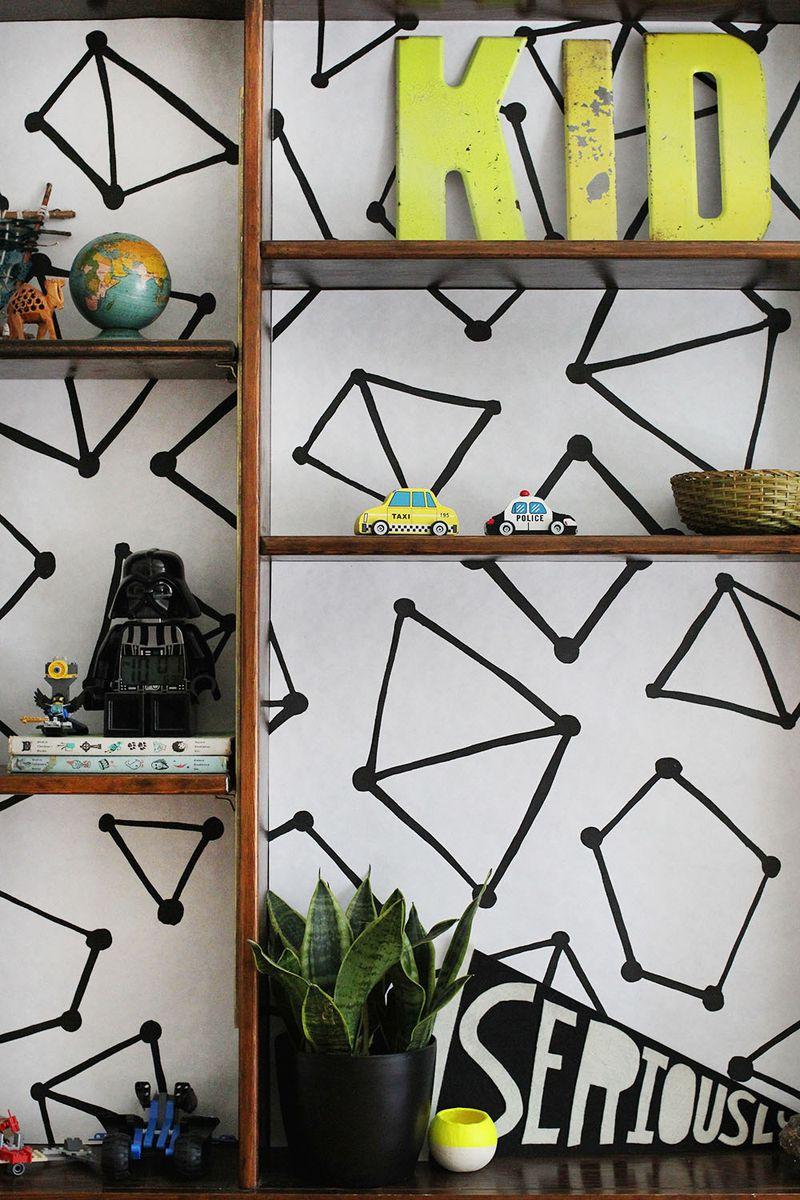 Line your shelves