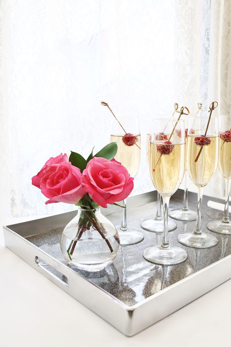 Champagne, please? www.abeautifulmess.com