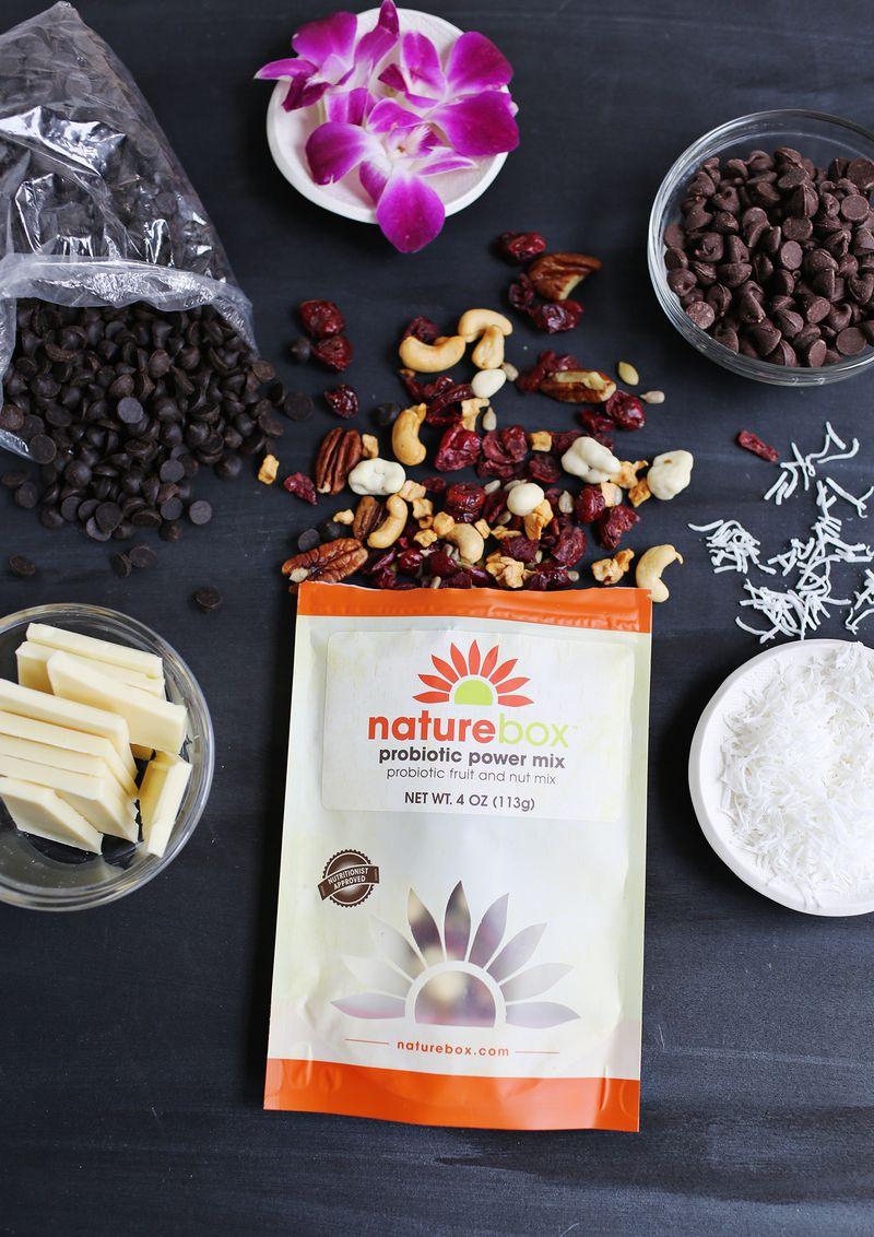 Nature Box chocolate bark bites