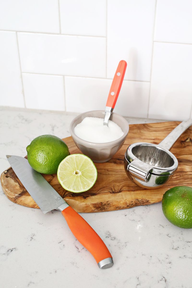 Make your own margarita mix! (cick through for recipe)