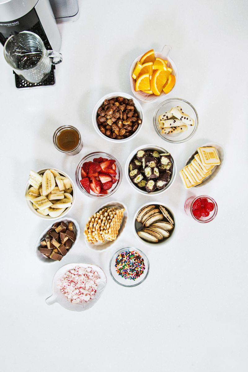 Affogato Dessert Bar (via abeautifulmess.com)