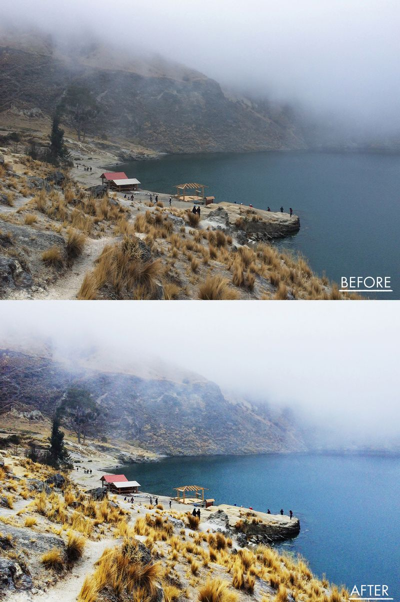 Before-After edited with #AColorStory App