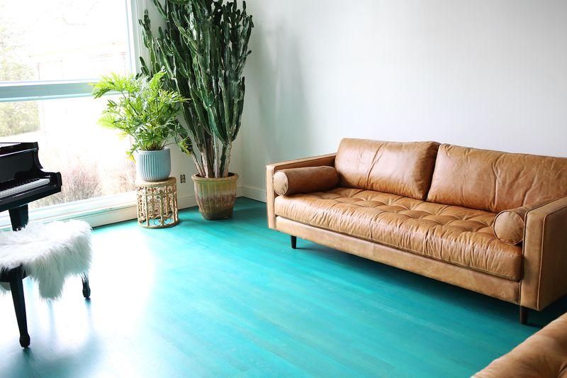 Living room progress report