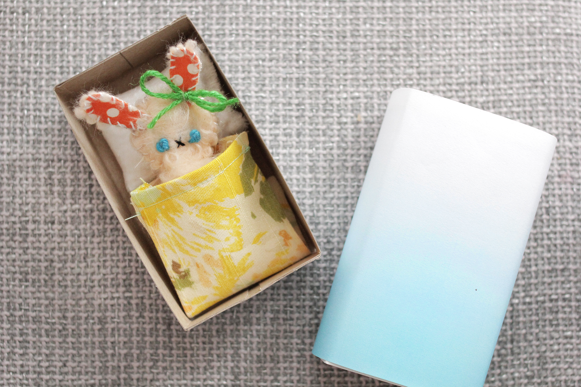 Matchbox dolls are such a fun handmade gift (click through for tutorial)