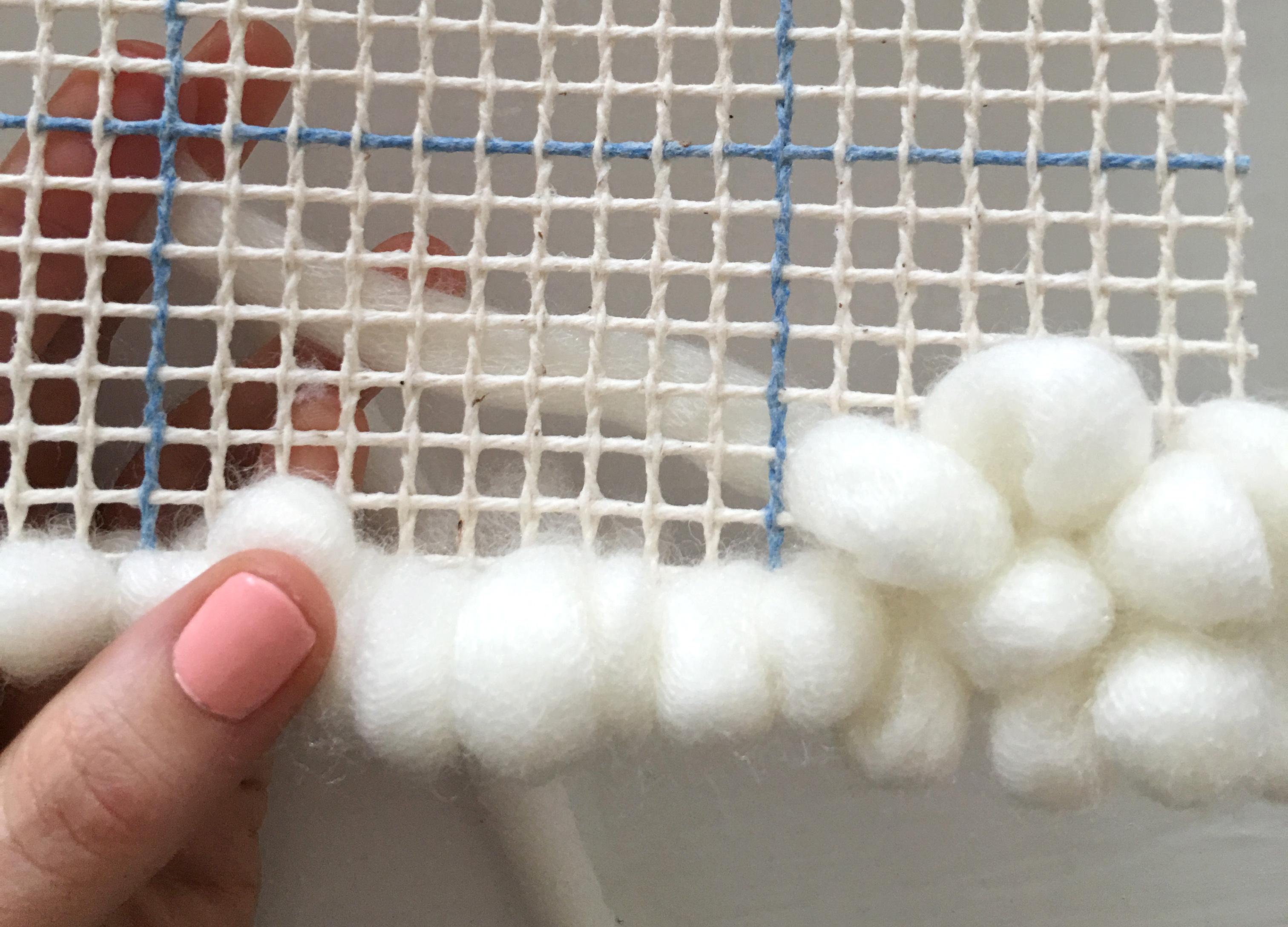 Step 3 filling mesh