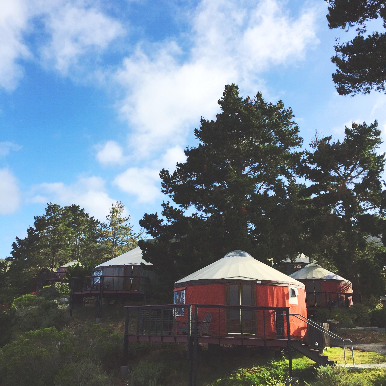 Big sur yurts
