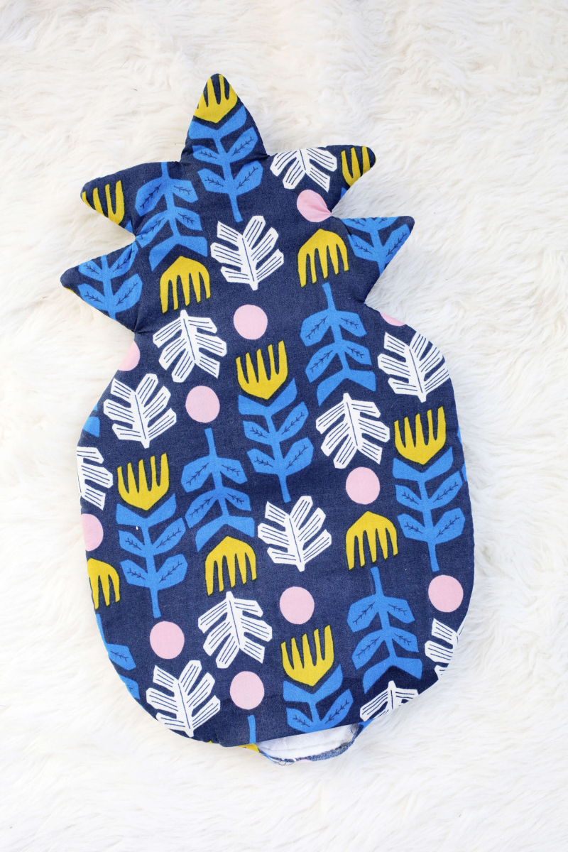 Pineapple oven mitt tutorial