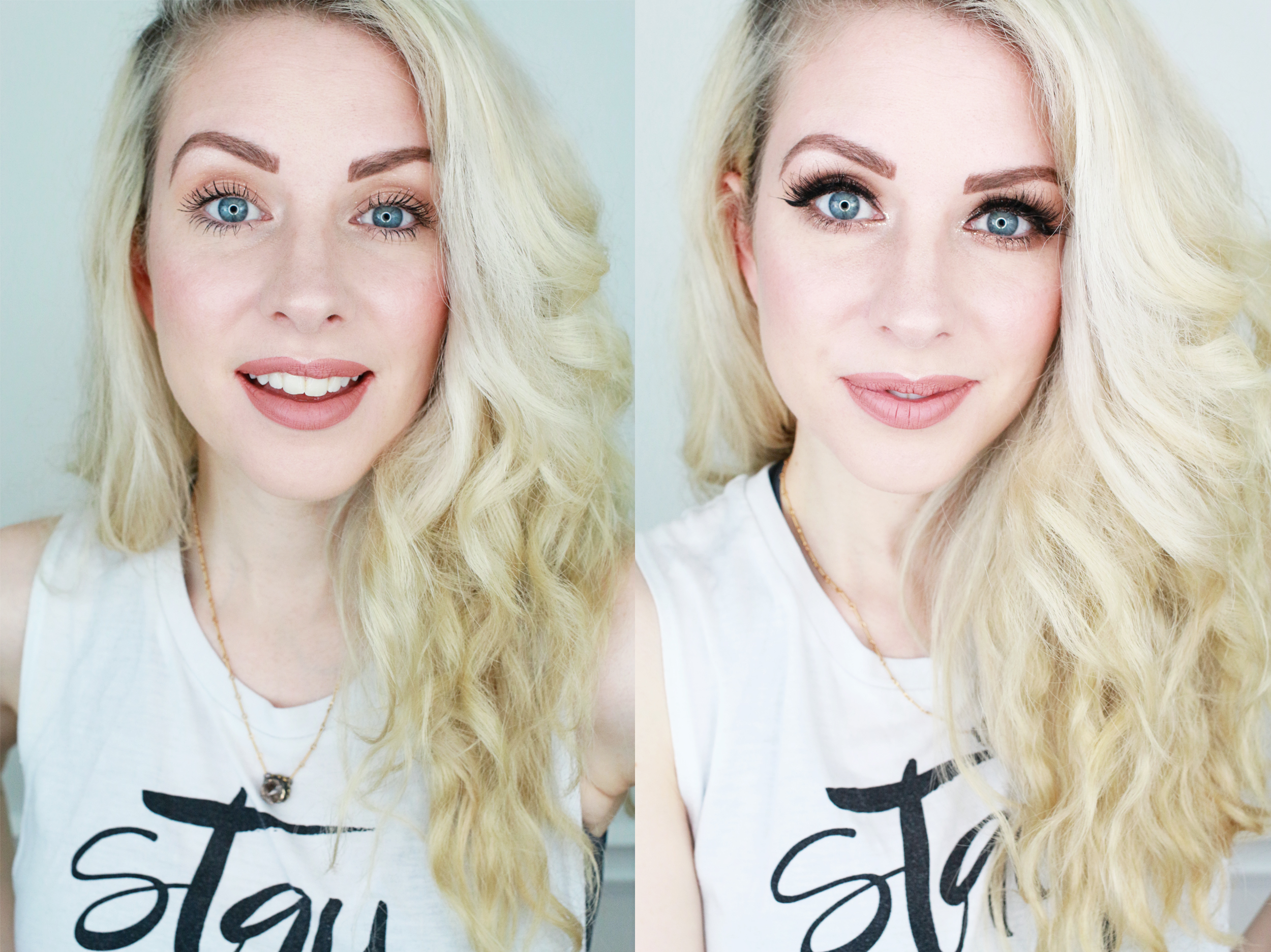 From Day To Date Night Eye Makeup Routine A Beautiful Mess