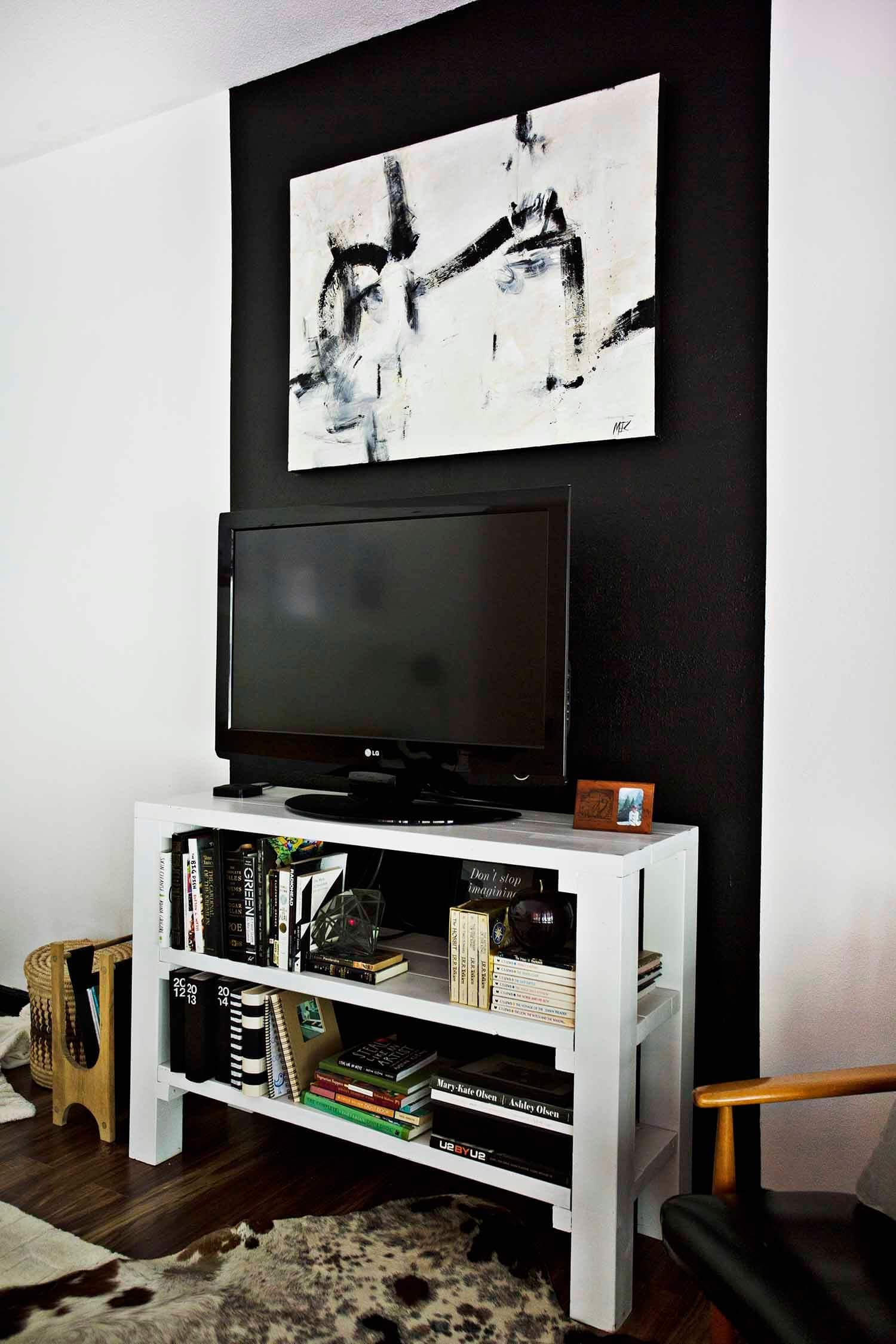 Progress Report Tv Living Room A Beautiful Mess