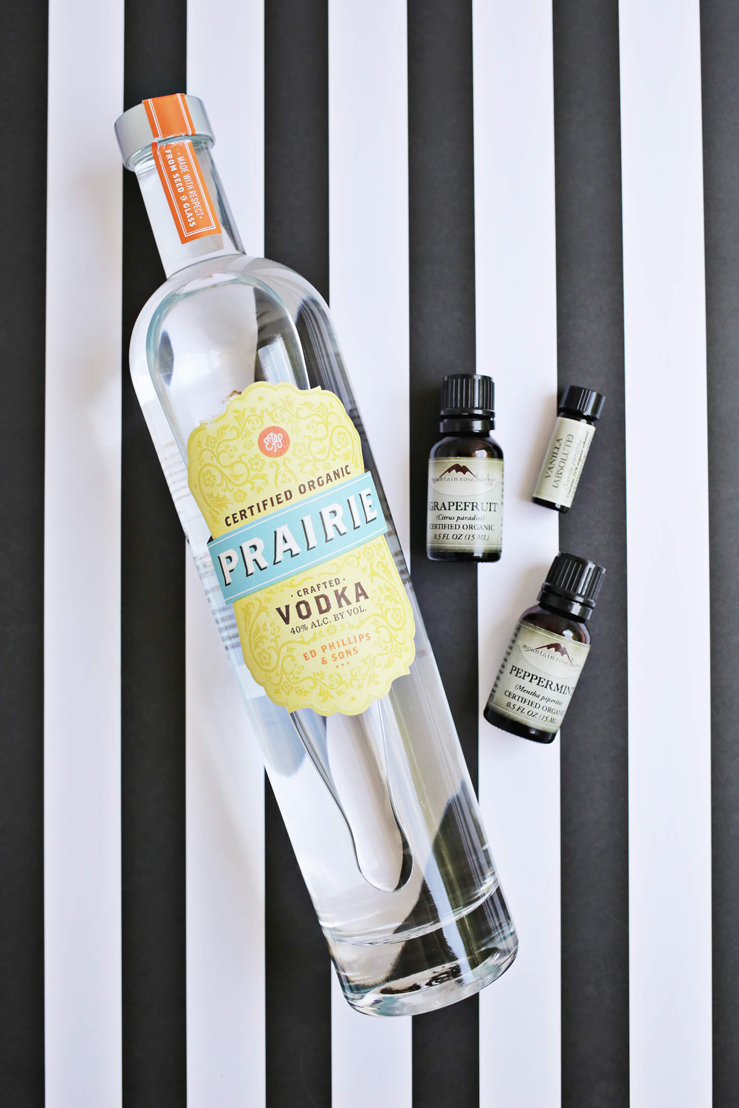 Grapefruit + Peppermint Perfume DIY (click through for tutorial