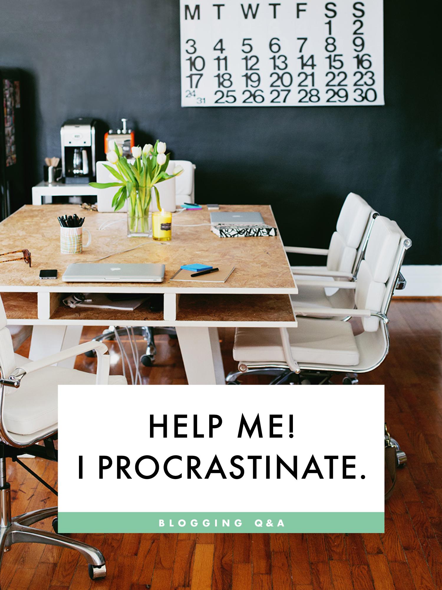 Tips to avoid procrasination