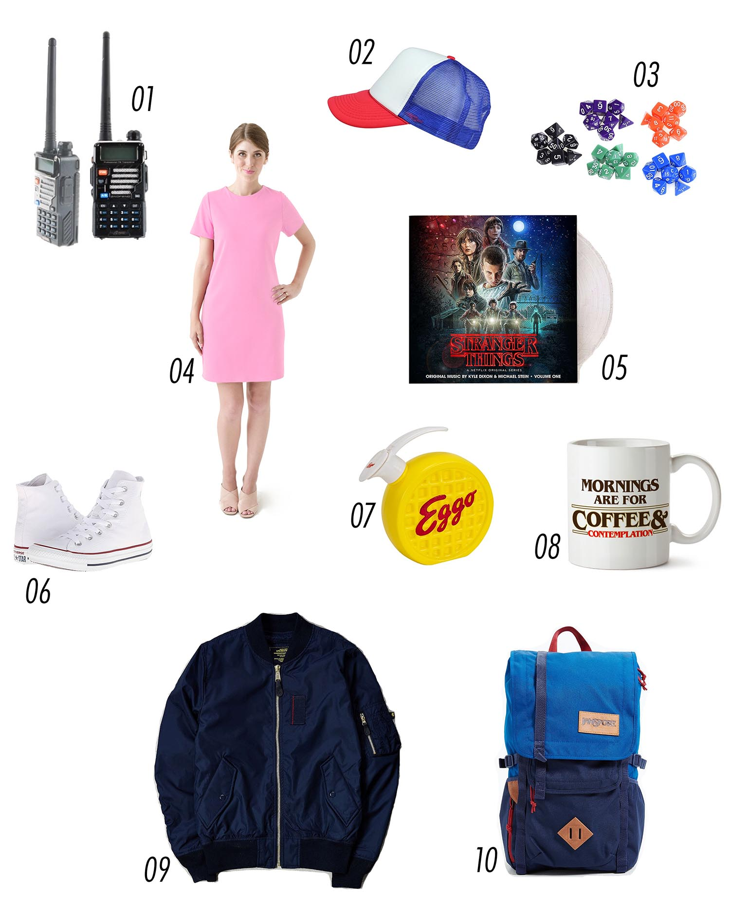 Stranger Things costume and gift guide