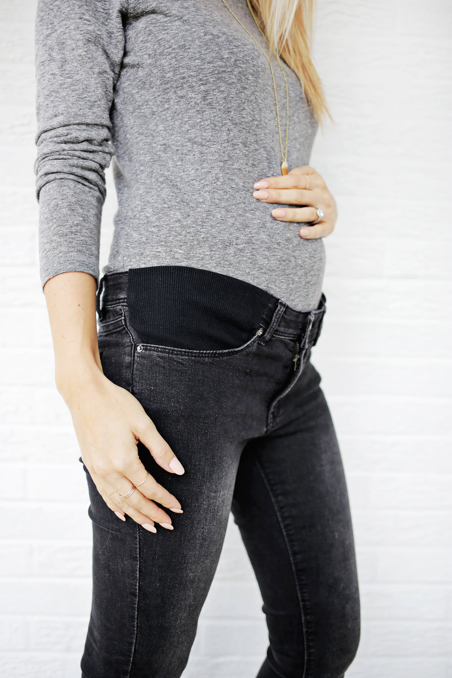 bbde63643b850 Make Your Own Maternity Jeans! - A Beautiful Mess