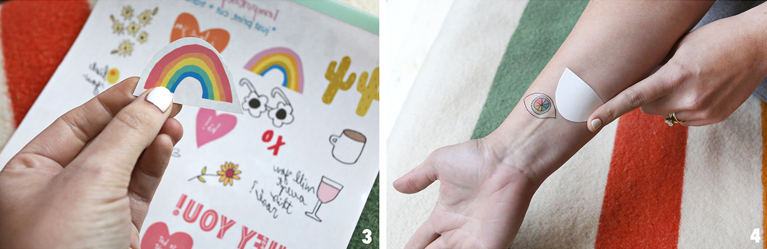 How to make temporary tattoos 2